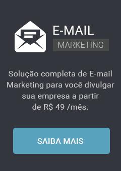 E-mail Marketing. Divulgue sua empresa a partir de R$49,00 por mês.