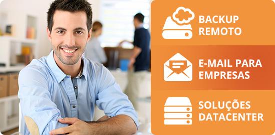 Webplus oferece Backup, E-mail e Datacenter.