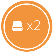 Backup automático regra 3-2-1 cloud storage. 2 cópias em mídias diferentes.