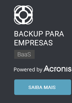 Backup para Empresas.Webplus Cloud Backup BaaS. Powerd by Acronis.