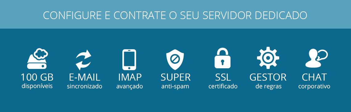 Contratar servidor dedicado para e-mail corporativo webplus.