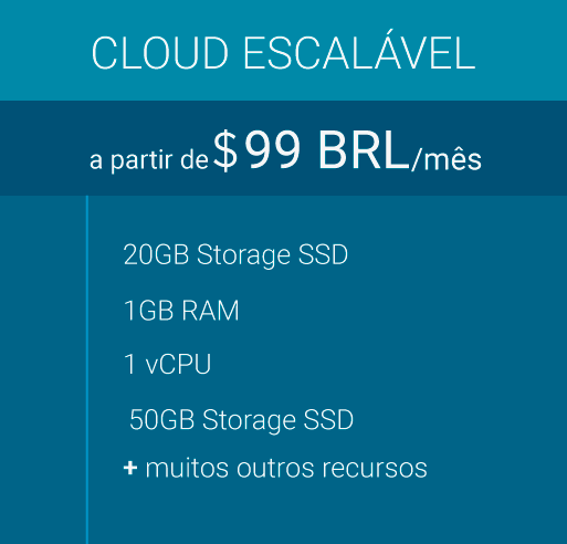 Cloud Escalavel para Hospedagem de Sites - Webplus